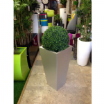 Galvanised Tapered Square Planter